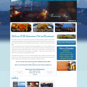 wordpress pub restaurant theme